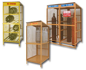 CYLINDER STORAGE LOCKERS · SAFETY STORAGE CABINETS