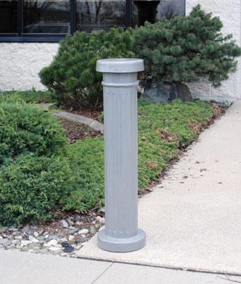 DECORATIVE ALUMINUM BOLLARDS