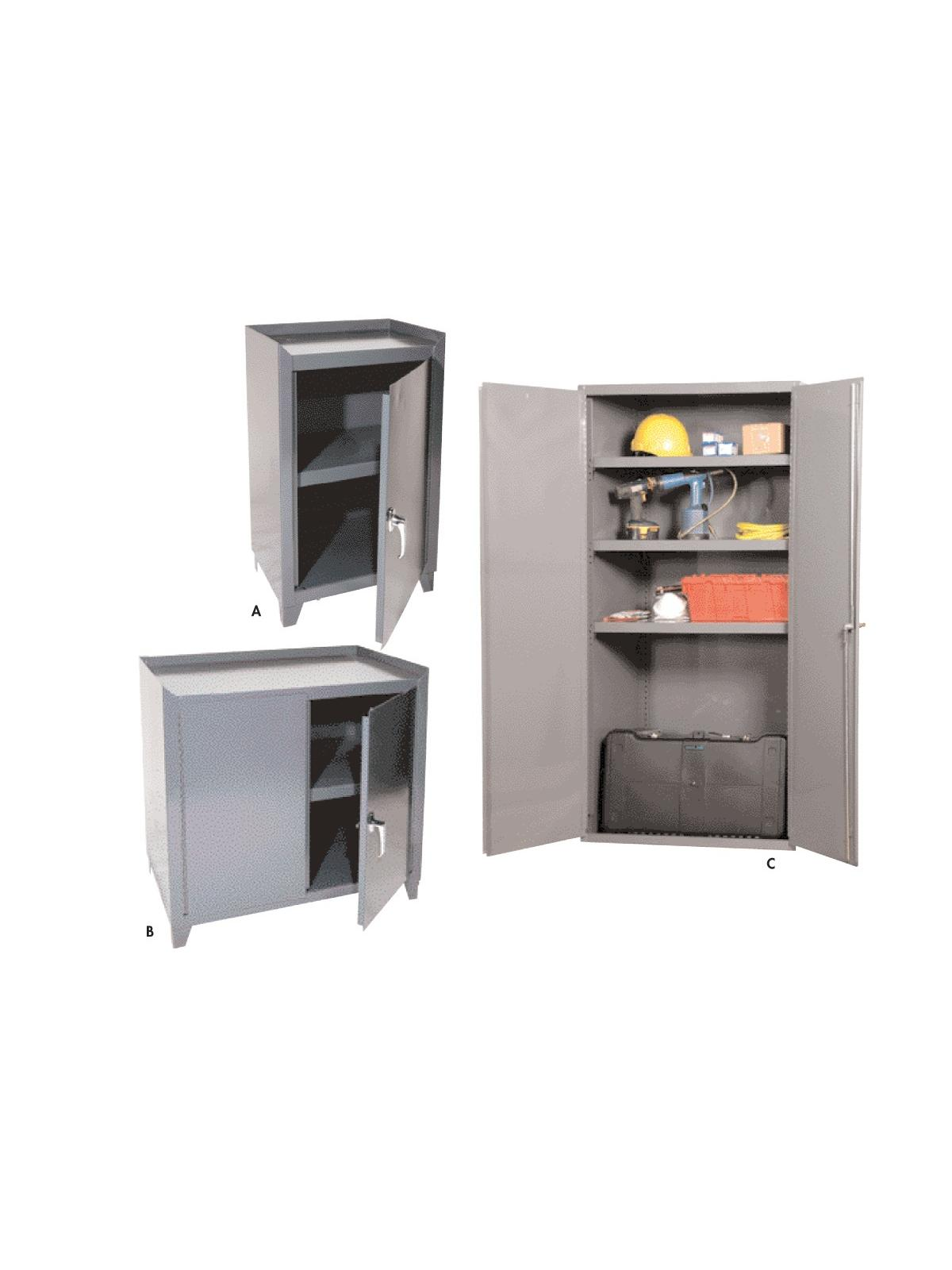 All Welded Storage Cabinets At Nationwide Industrial