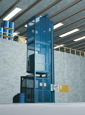 Vrc Vertical Reciprocating Conveyor Freight Elevator At