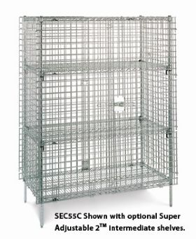 Super Erecta&Reg; Shelf Security Storage