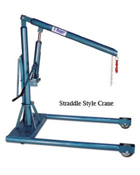 High Capacity Floor Cranes
