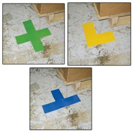 Adhesive Pallet Alignment Markers