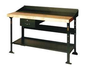 STEEL WOOD WORK BENCH