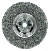 Weiler® Trulock™ Narrow-Face Crimped Wire Wheels
