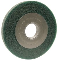 Anderson Brush Anderbond™ Encapsulated Medium Face Crimped Wire Wheels-DA Series-Carbon Steel
