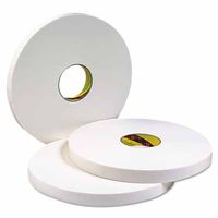 3M Industrial Double Coated Urethane Foam Tapes 4016