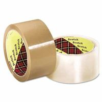 3M Industrial Scotch® Industrial Box Sealing Tapes 371