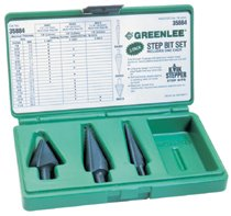 Greenlee® Kwik Stepper Step Bit Kits