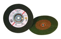 3M Abrasive Green Corps™ Depressed Center Wheels