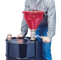 Tip-Over Protection System for Drum Funnels