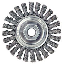 Weiler® Dualife® Cable Twist Knot Wire Wheels