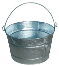 Galvanized Round Tubs