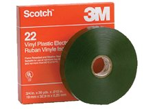 3M Electrical Scotch® Heavy-Duty Vinyl Insulation Tapes 22