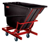 Rubbermaid Commercial Self-Dumping Hoppers