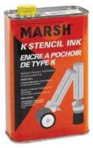C.H. Hanson® Metal Rolmark Stencil Inks