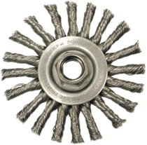 Anderson Brush Narrow Face Cable Twist Knot Wire Wheels-TC Series