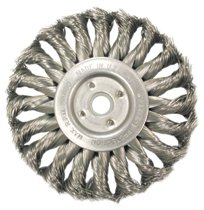 Anderson Brush Medium Face Standard Twist Knot Wire Wheels-TS & TSX Series
