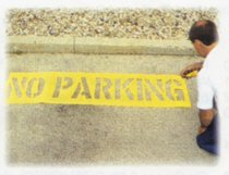 C.H. Hanson® No Parking Stencil Kits