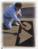 C.H. Hanson® 6 Piece Parking Lot Stencil Kits