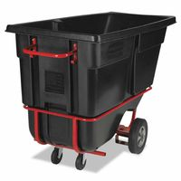 Rubbermaid Commercial Forkliftable Tilt Trucks