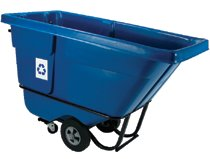 Rubbermaid Commercial Recycling Tilt Trucks