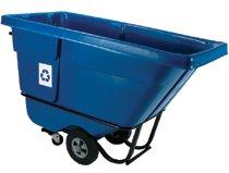 Rubbermaid Commercial Recycling Tilt Trucks