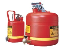 Nonmetallic Safety Cans for Laboratories