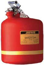 Nonmetallic Type l Safety Cans for Flammables