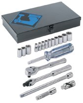"Armstrong Tools 19 Piece 1/4"" Dr. Socket Sets"