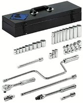 "Armstrong Tools 33 Piece 3/8"" Dr. Socket Sets"