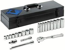 "Armstrong Tools 22 Piece 3/8"" Dr. Socket Sets"