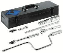 "Armstrong Tools 15 Piece 3/8"" Dr. Socket Sets"