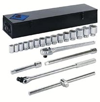 "Armstrong Tools 20 Piece 3/4"" Dr. Socket Sets"