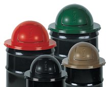 Rubbermaid Commercial Steel Dome Tops