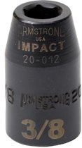 """Armstrong Tools 1/2"""" Dr. Standard Impact Sockets"""
