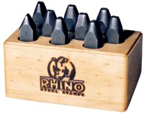 C.H. Hanson® Rhino Number Stamp Sets