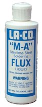 M-A Stainless Steel Flux Liquids