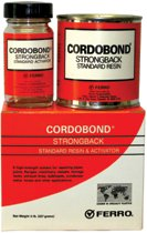 Ferro 174 Cordobond 174 Strong Back Resin And Activator At