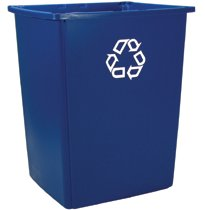 Rubbermaid Commercial Glutton® Recycling Containers