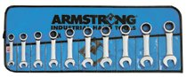 Armstrong Tools 7 Piece Geared Stubby Wrench Sets