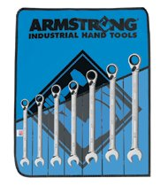 Armstrong Tools 7 Pc. Geared Reversible Wrench Sets