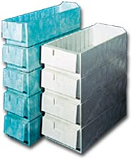 STRUCTURAL FOAM SHELF BOXES