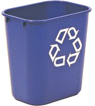 Rubbermaid Commercial Deskside Recycling Containers