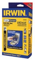 """Irwin® Turbomax® 3/8"""" Reduced Shank HSS Drill Bit Sets"""