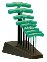Bondhus® Star Tip T-Handle Hex Key Sets