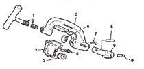 Ridgid® Pipe Cutter Rollers