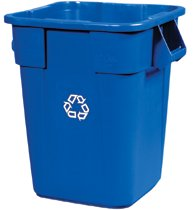 Rubbermaid Commercial Brute® Square Recycling Containers