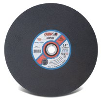 CGW Abrasives Type 1 Cut-Off Wheels, Chop Saws