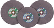 CGW Abrasives Type 1 Cut-Off Wheels, High Speed Gas Saws